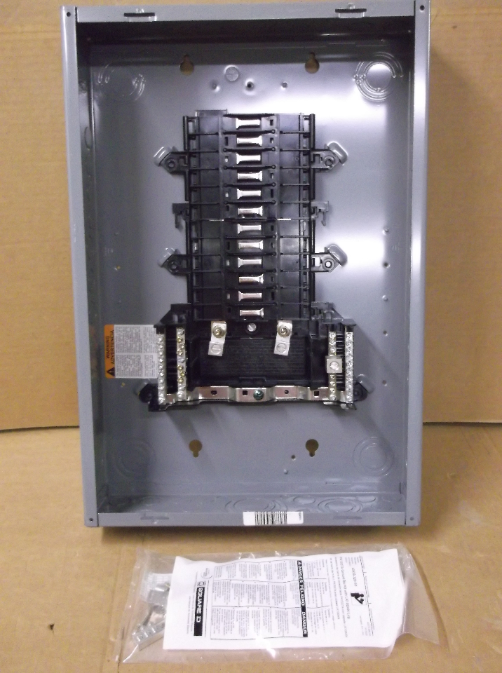 Square D Qo124l125g Load Center  125 A