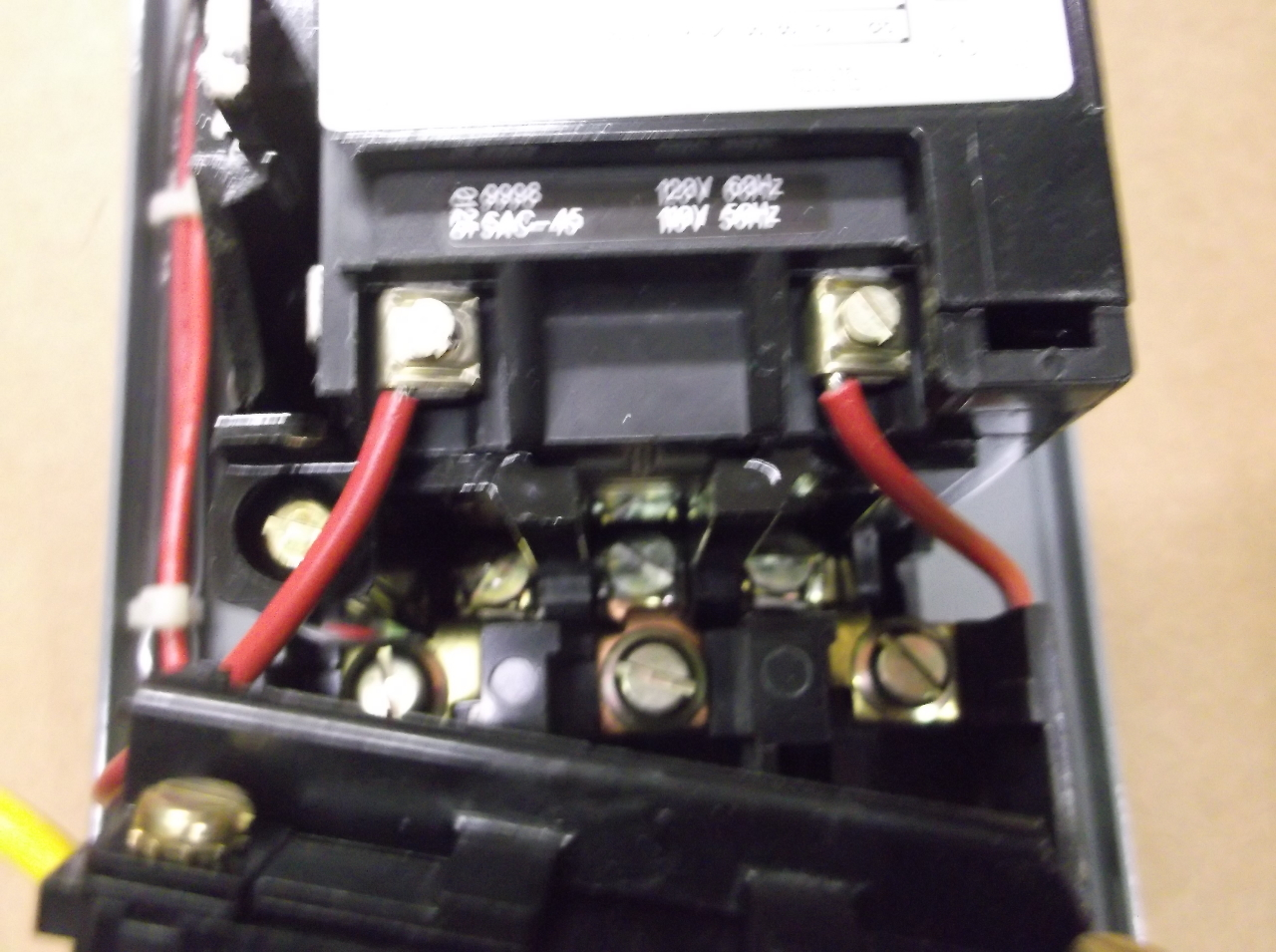 Square d combo w motor starter size 00 model for Square d combination motor starter