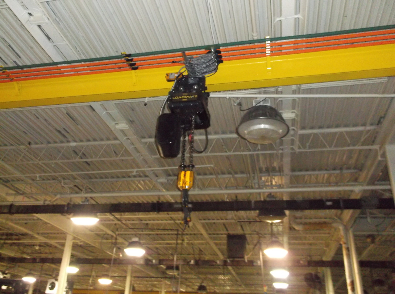 R m loadmate lm16 3 ton electric chain hoist and for 2 ton hoist with motorized trolley