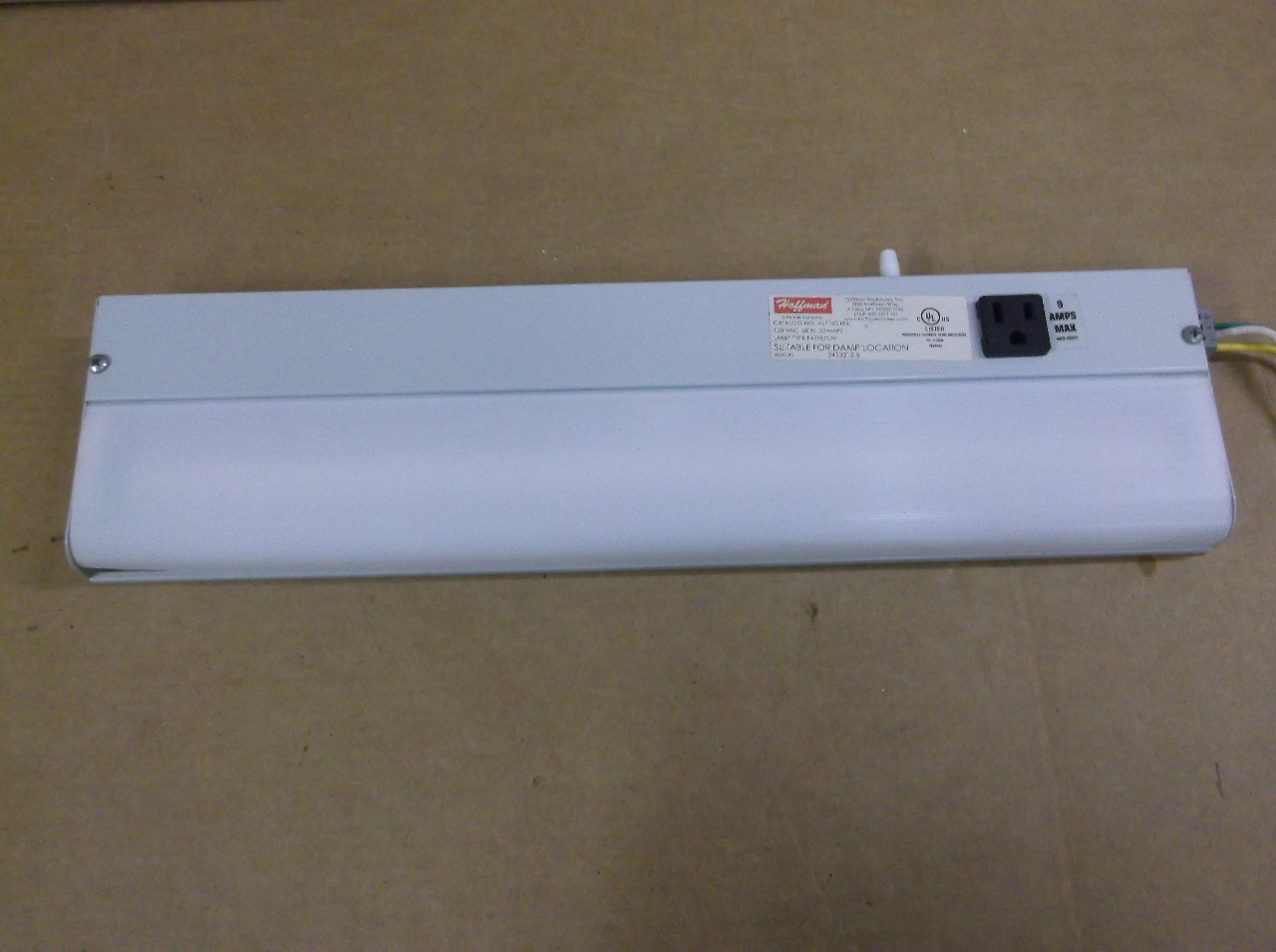 hoffman alf16d18r fluorescent light fixture daves industrial surplus