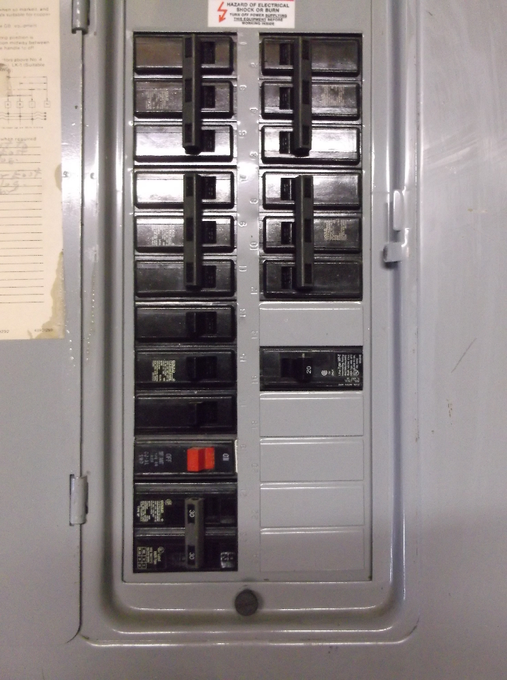 Wiring In The Home An Existing 125 Amp Ite Panel Amp Breaker