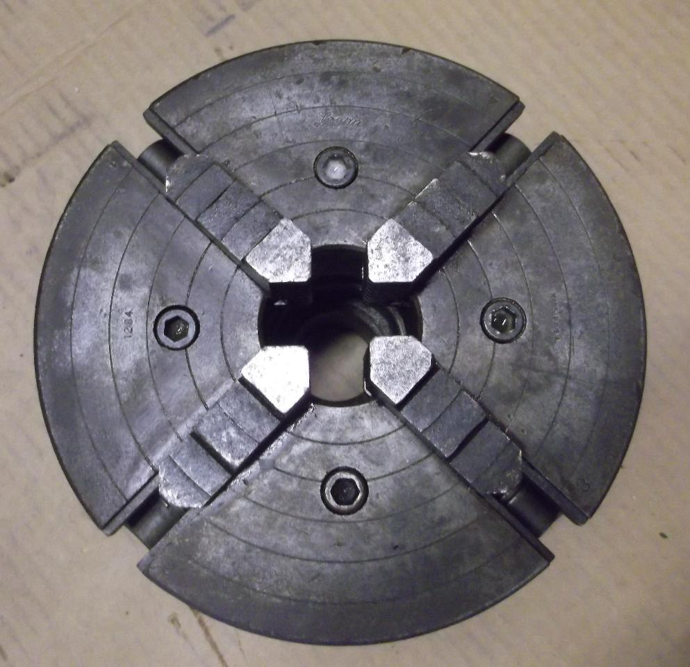 Logan 8 lathe chuck 4 jaw ebay for Chuck s hardwood flooring