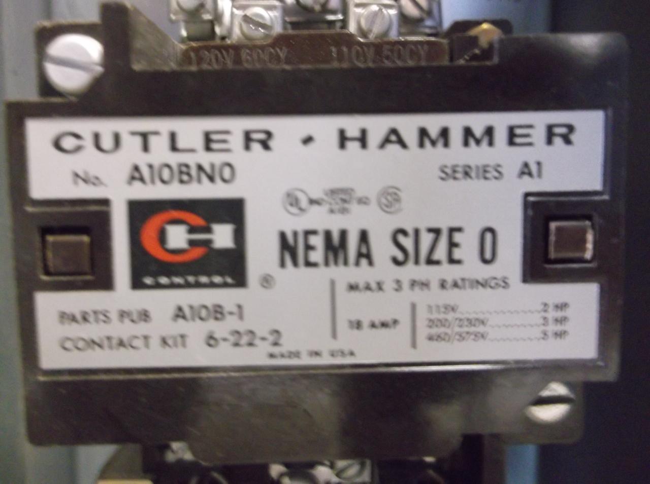 Cutler Hammer A30bgt0 A