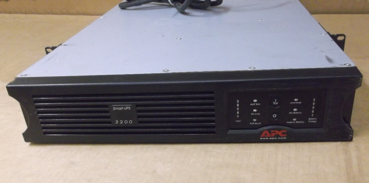 Apc Sua2200rm2u Smartups 2200 Daves Industrial Surplus Llc