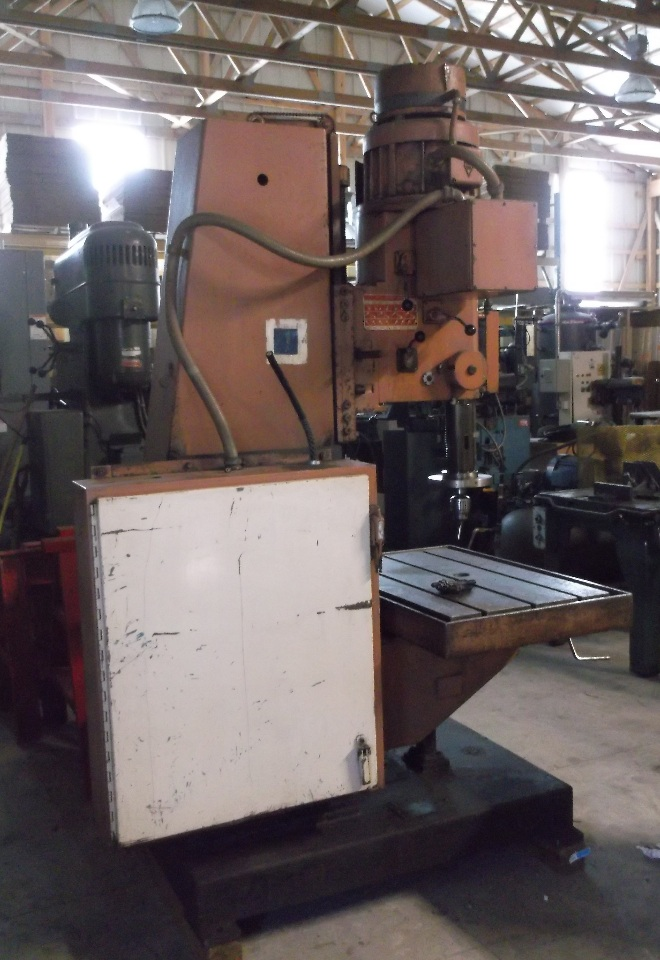 Johansson Heavy Duty Box Column Drilling Machine Daves
