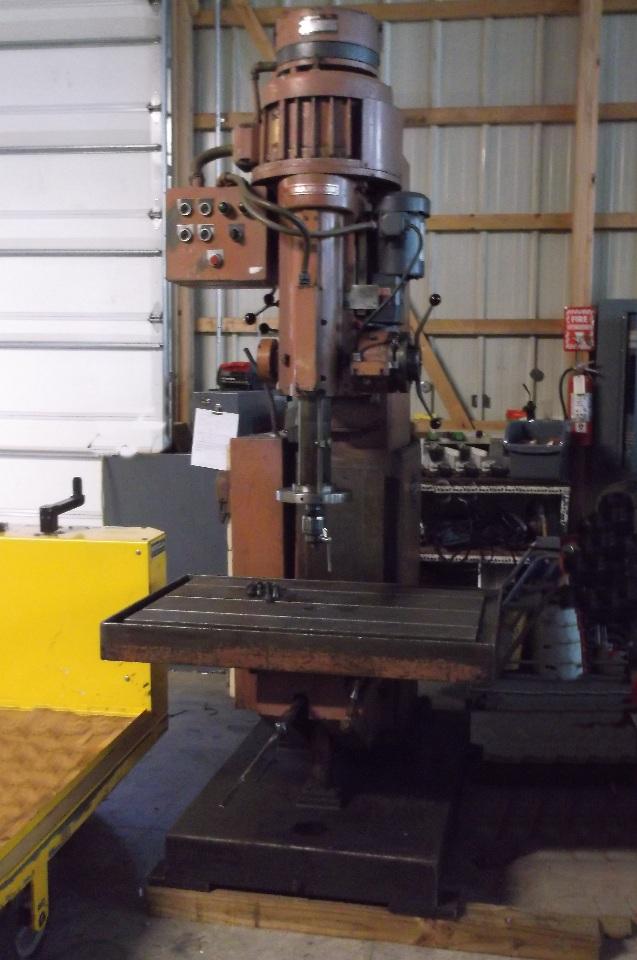 Johansson Heavy Duty Box Column Drilling Machine Daves