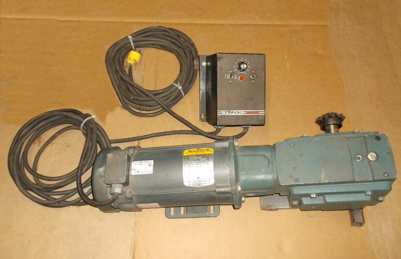 baldor motor cpd3445 baldor dc drive bc140fbr and doge