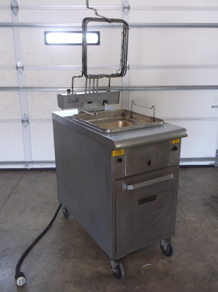 Hobart Ck 40 2 Basket Commercial Electric Deep Fryer