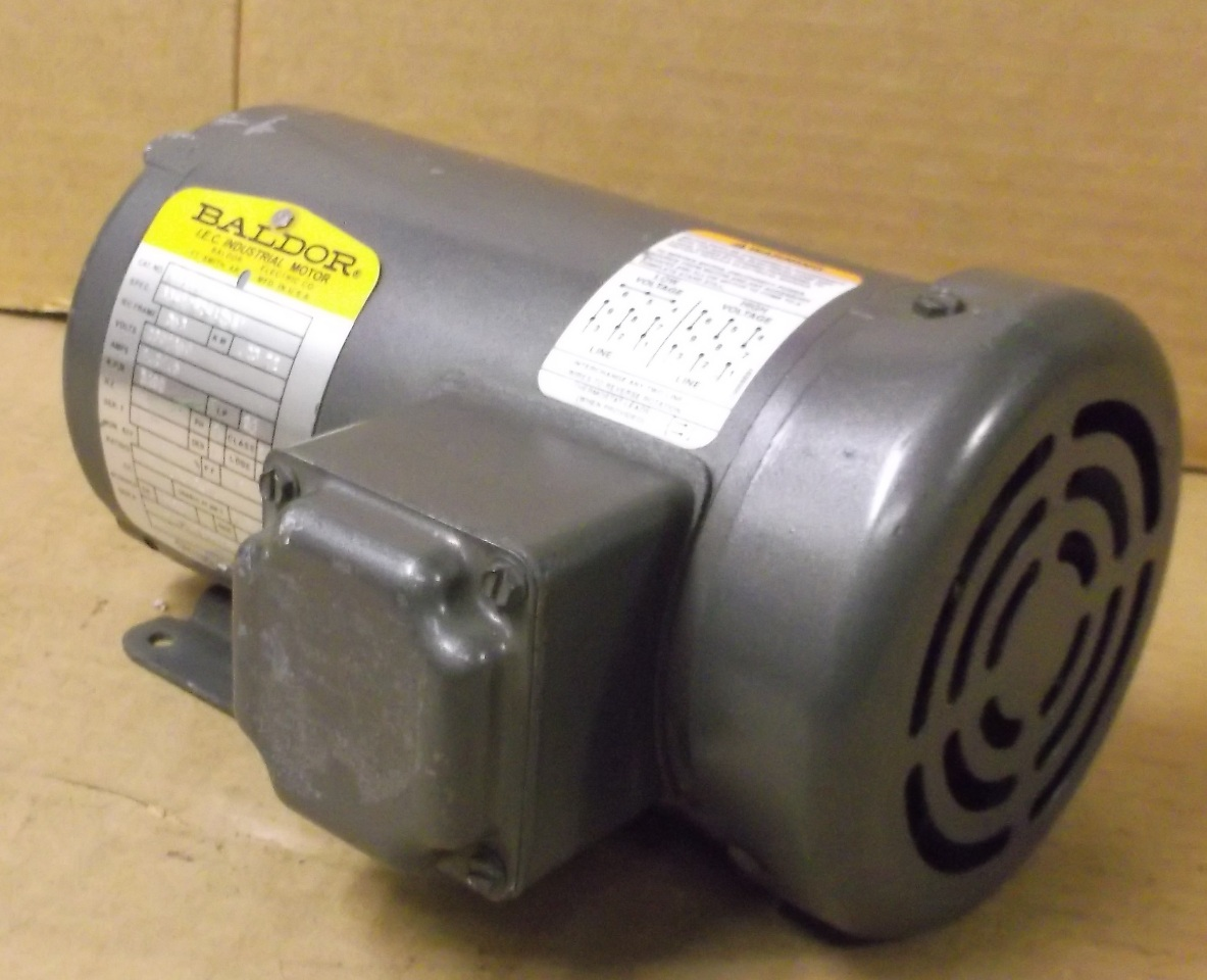 Baldor electric motor 3 phase 230 460 volt for Baldor electric motor parts