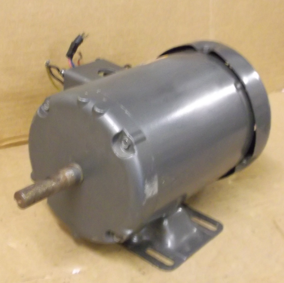 Baldor electric motor 1 2 hp 3 phase 230 460 volt for Baldor industrial motor parts