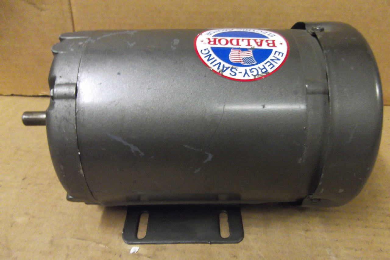Baldor electric motor m3458 hp 3 phase 230 for Baldor industrial motor parts