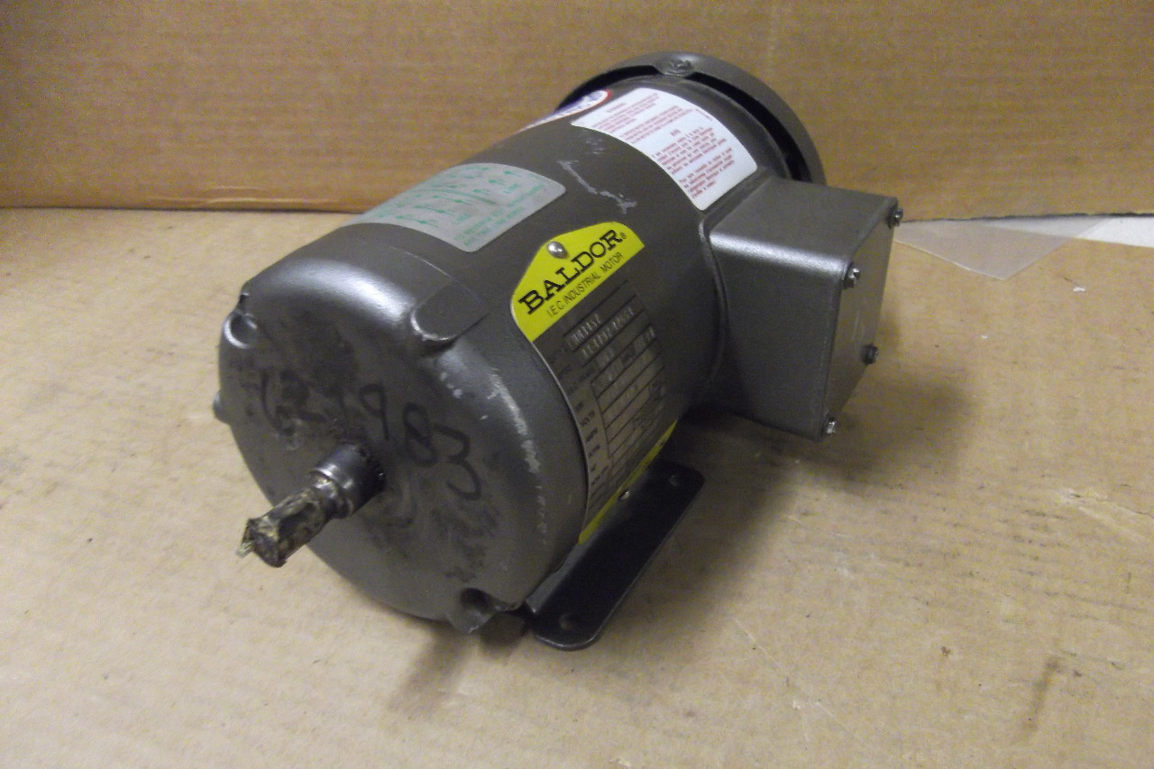 Baldor electric motor mm3457 3 phase 208 for Baldor industrial motor parts