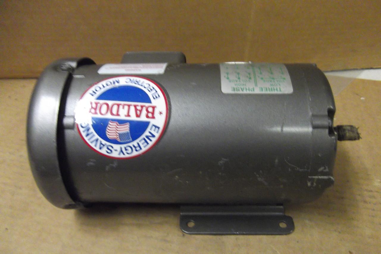 Baldor Electric Motor Mm3457 3 Phase 208