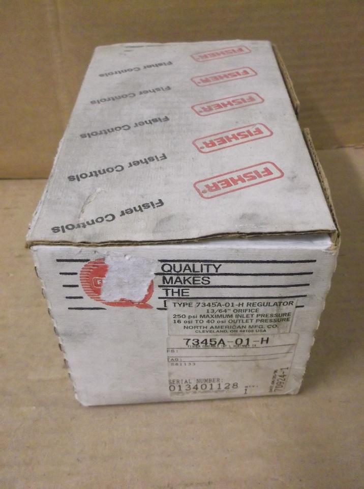 Fisher Type 7345a 64 U0026quot  Orifice