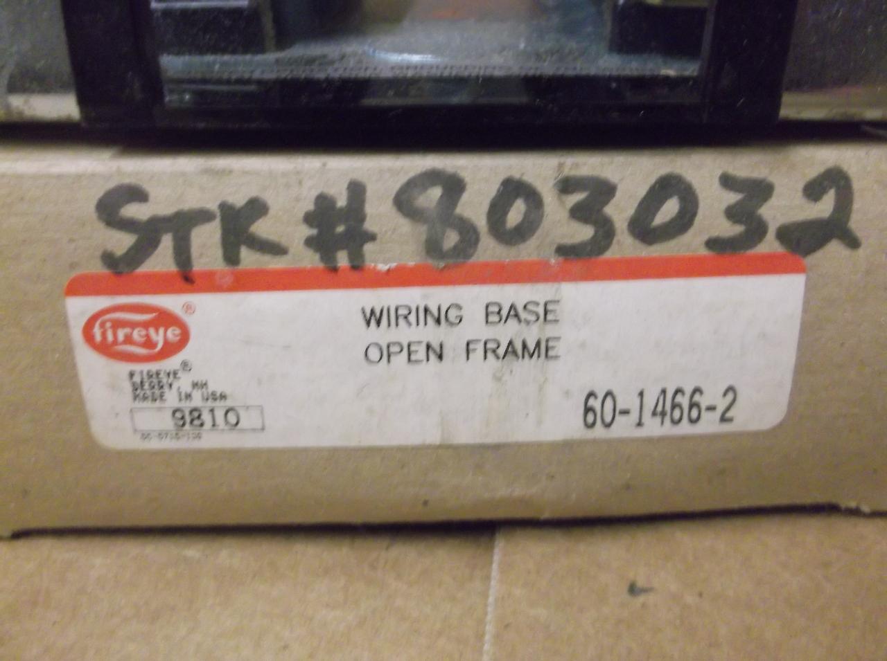... FIREYE WIRING BASE OPEN FRAME 60-1466-2 : what is open wiring - yogabreezes.com