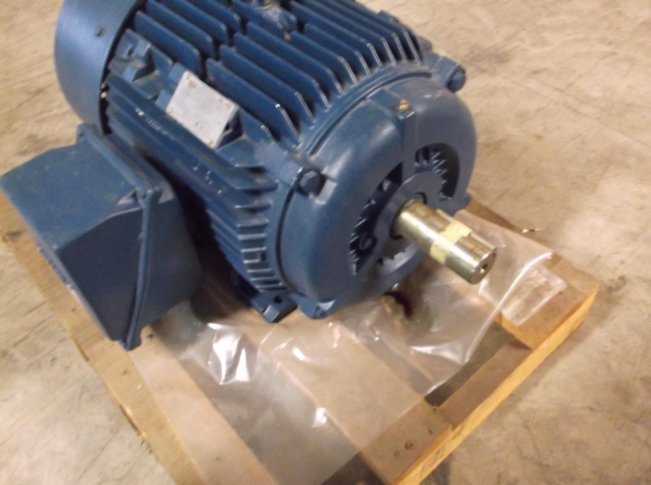Siemens Severe Duty Tefc Motor Type Rgzeesd 40hp 460v