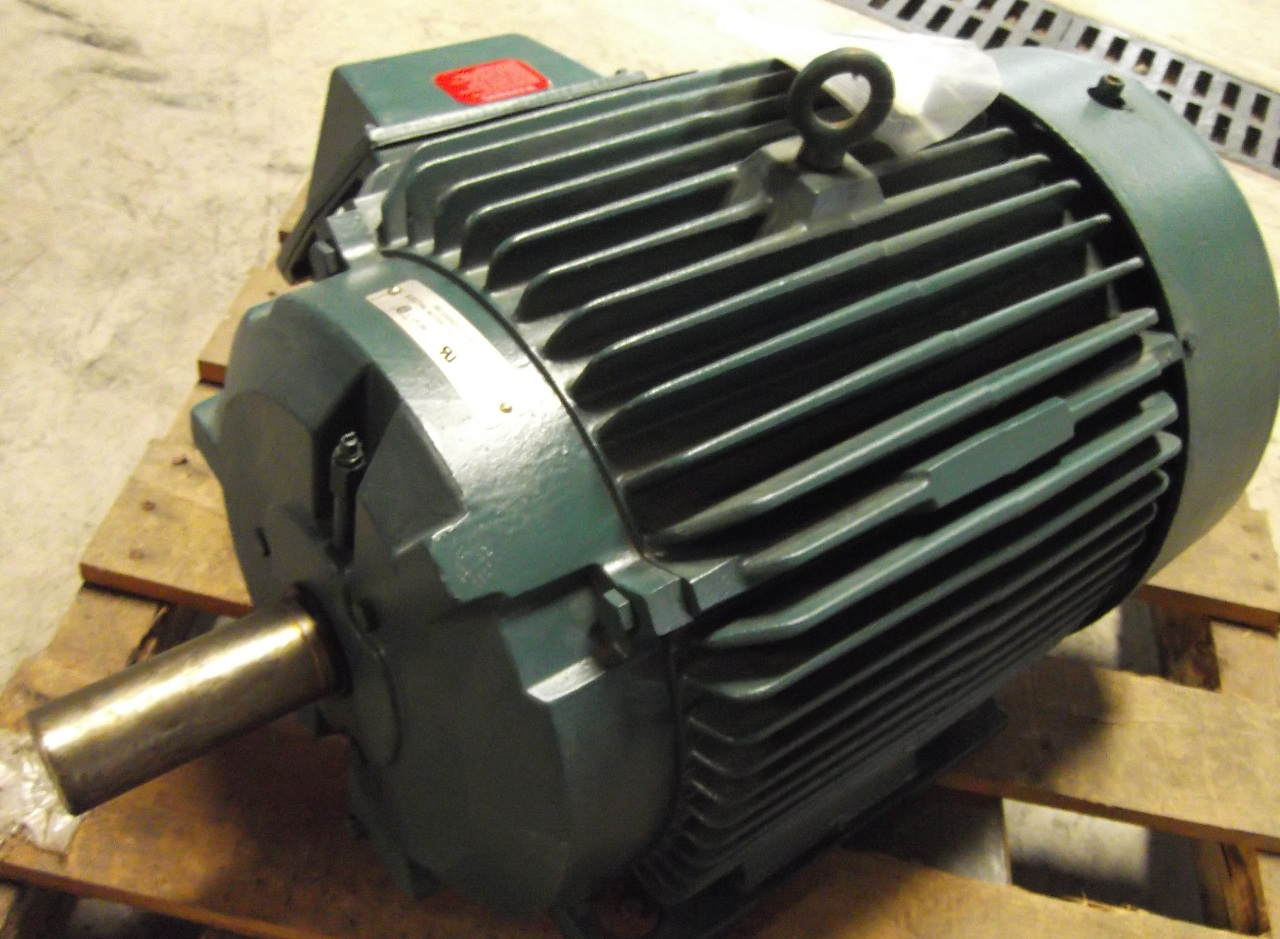 Reliance Electric Severe Duty Tefc Motor 40 Hp 60 Hz