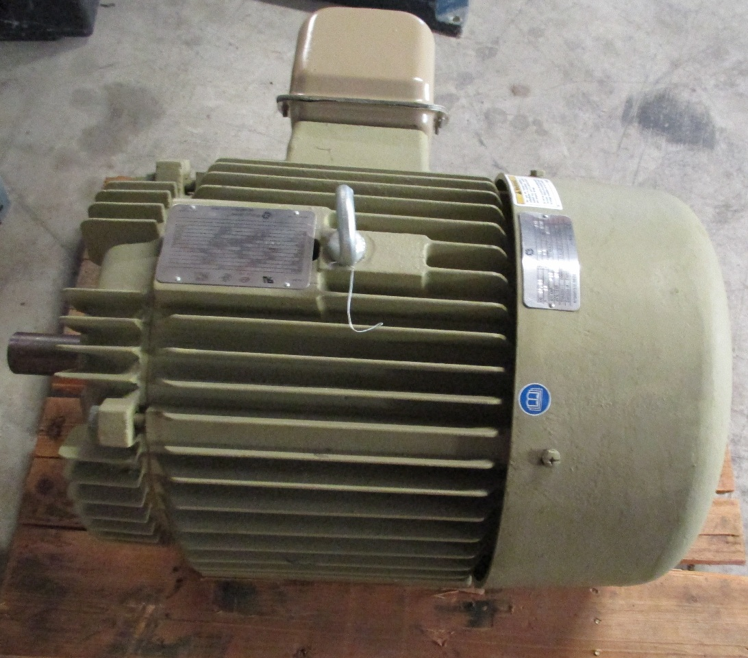 Ge M7709 Ac Electric Motor M12789 3 Phase 25 Hp 284ts