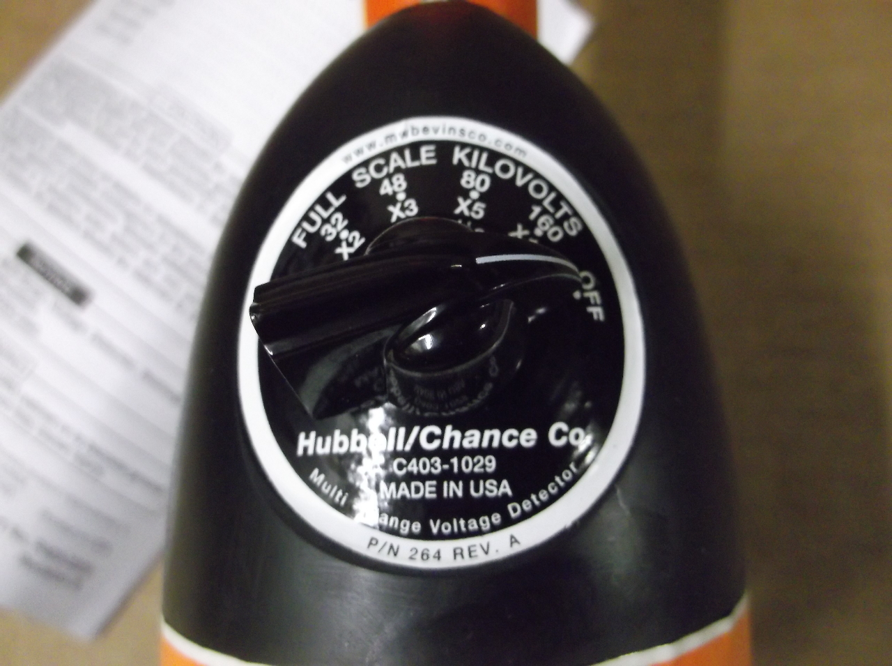 Chance High Voltage Tester : Chance hubbell high voltage tester kv daves