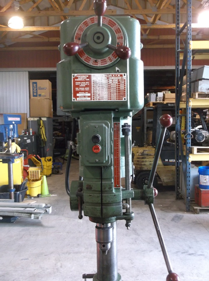 15 Quot Powermatic Model 1150 Drill Press Floor Model Daves