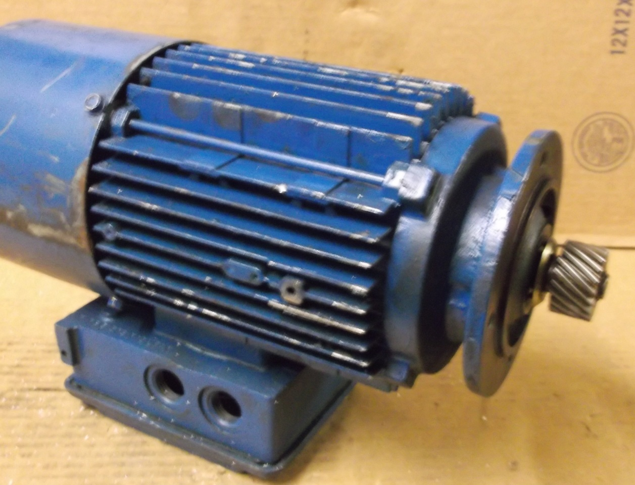 Sew eurodrive motor dft80k4bmg1hrz 75hp 1700 rpm 3 ph for Sew motors and drives