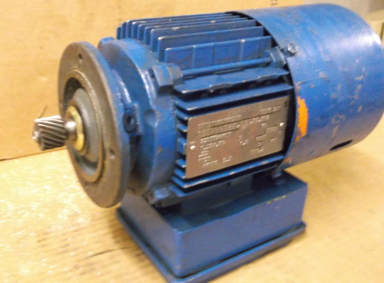 Sew eurodrive motor dft71d6bmg05hr 33 hp 1130 rpm 3ph for Sew motors and drives