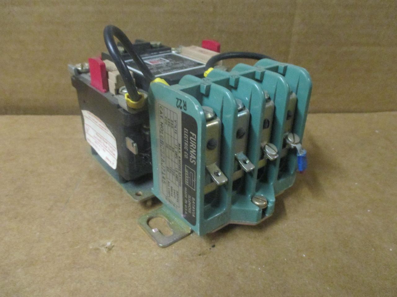 Furnas electric co 16bc32aj7145 starter daves industrial Furnas motor starter