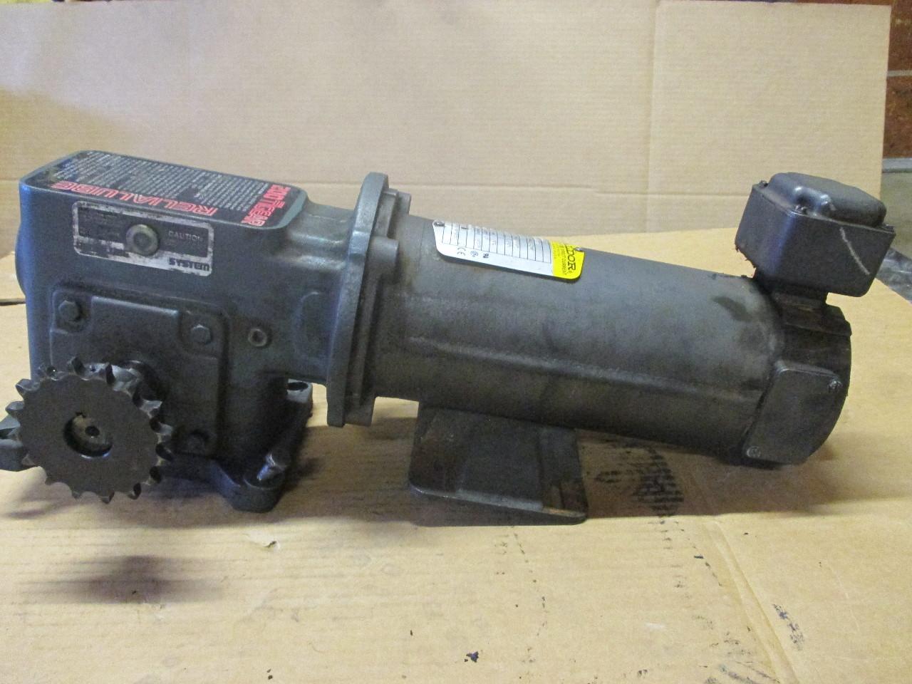 Baldor - CDP33DC Brushed Motor, TENV (Totally Enclosed Non)