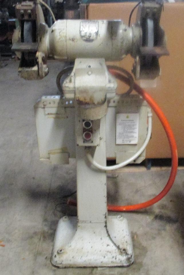 Rockwell 23 101 10 1hp Motor Pedestal Dual Grinder 1725