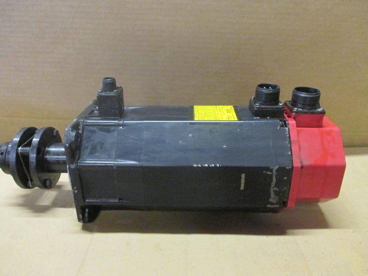 Fanuc Ac Servo Motor A6 2000 A06b 0127 B175 Daves Industrial Surplus Llc