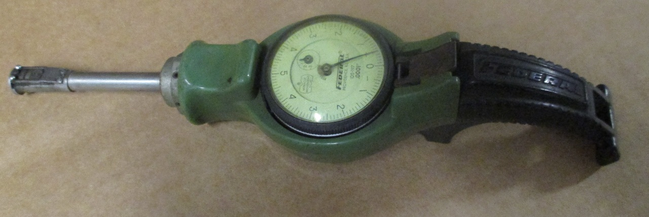 Federal Indicators Gages : Federal series p dial indicator ids gauge gage