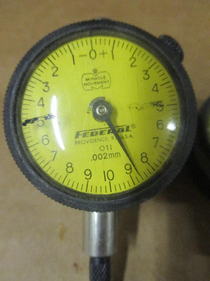 Federal Indicators Gages : Federal dial indicator gauge gage o l ebay