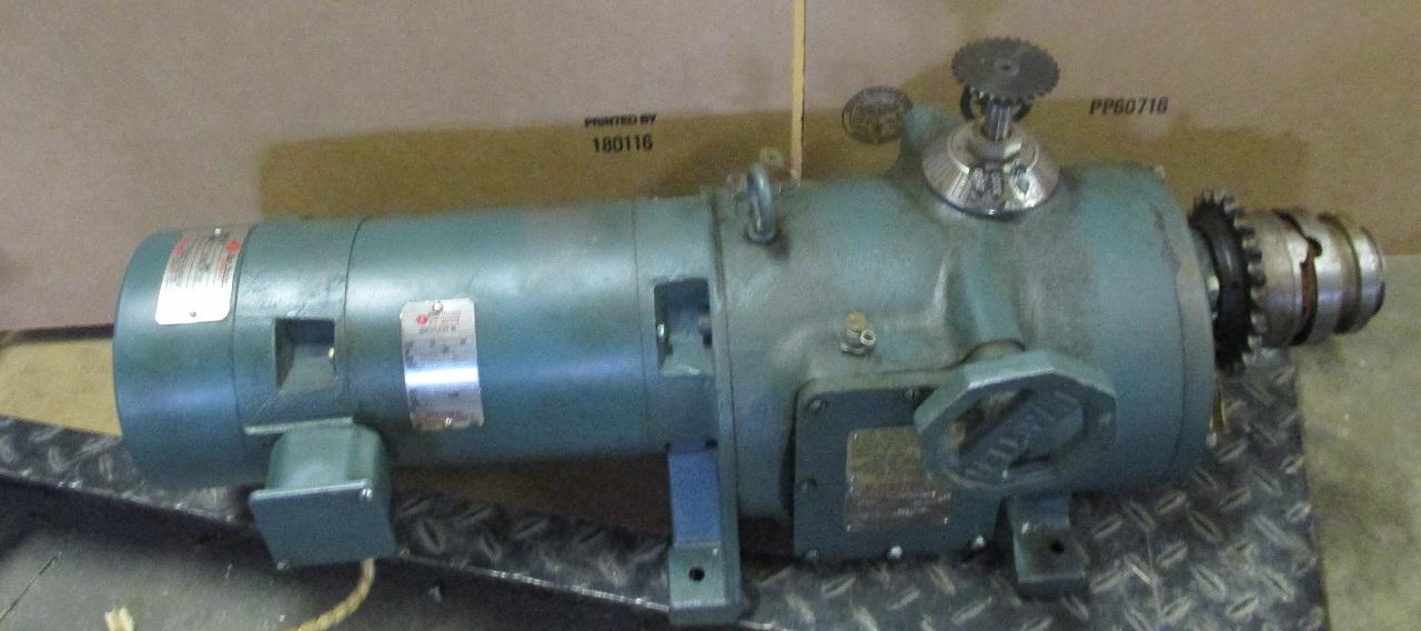 Reliance duty master ac motor id 413407 mr uni brake for Duty master ac motor