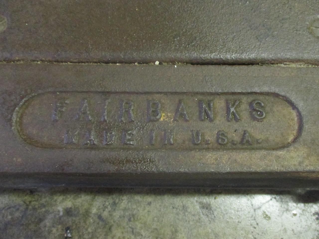 Vintage fairbanks 1 scale