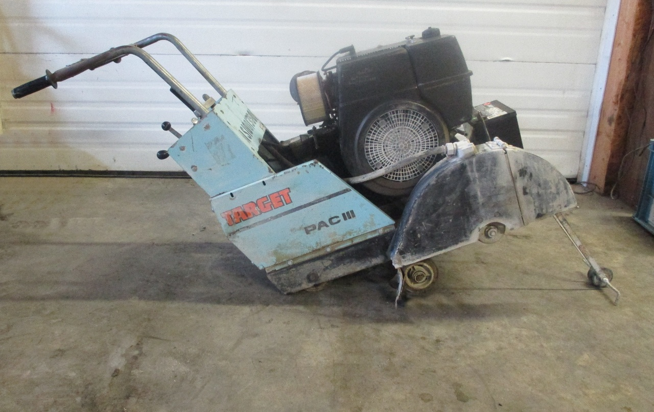 Target Concrete Saw Pac Iv Owners Manual