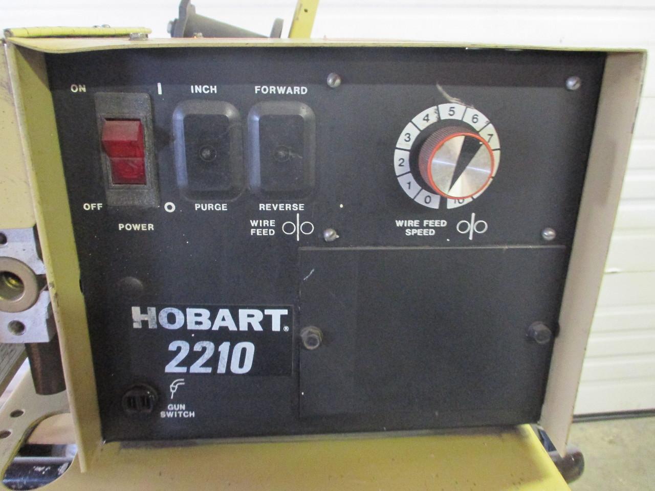 hobart rc 301 welder 300 amp with hobart 2210 wire feeder daves rh davesindustrialsurplus com Hobart Welder Wiring Diagram Hobart AM 14 Wiring Diagram