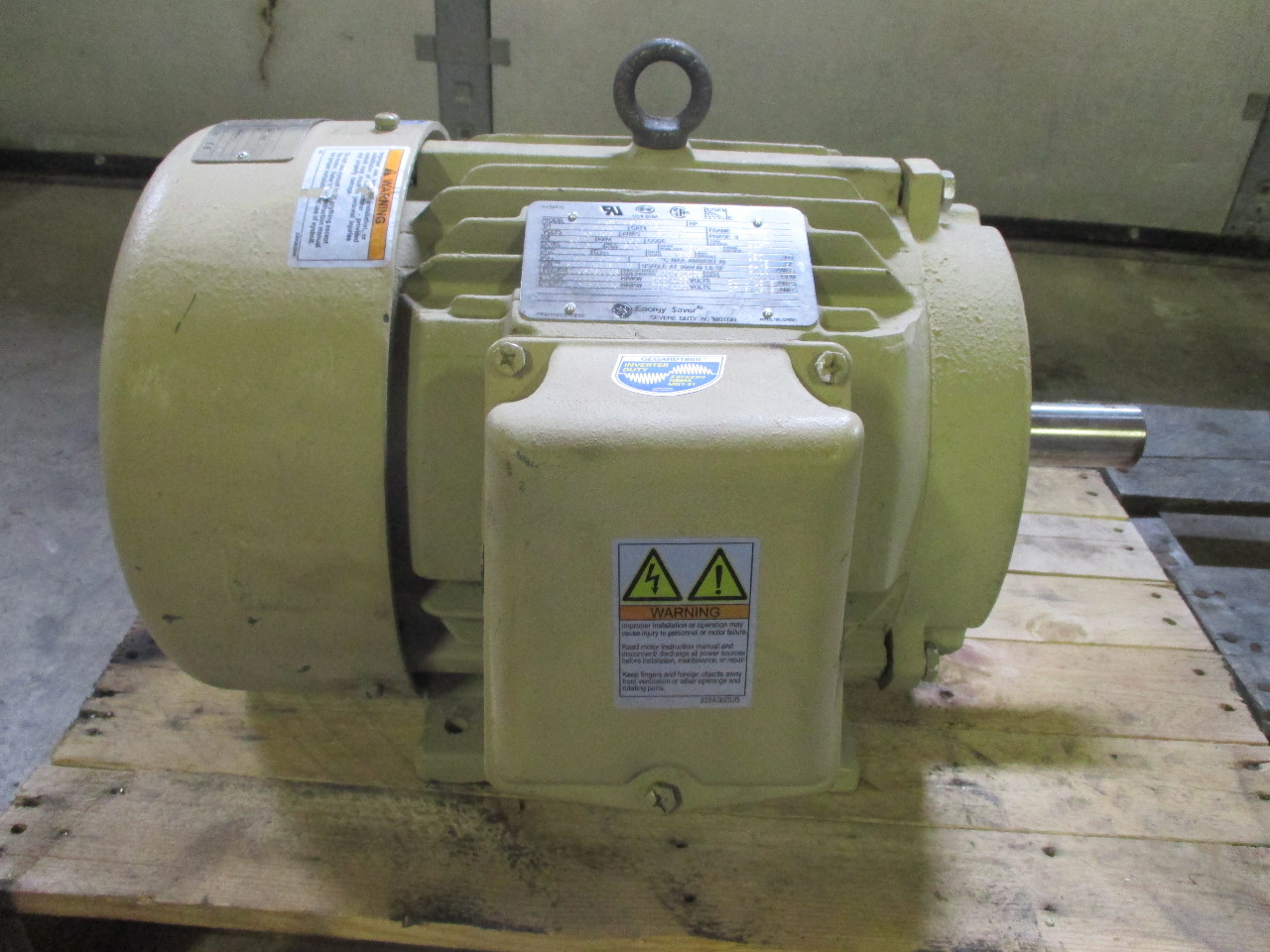 Ge General Electric 10hp 1760 Rpm Energy Saver Ac Motor