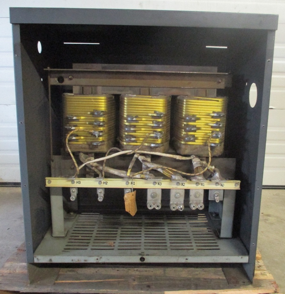 Ge 9t23b3057 75 Kva 3 Phase Transformer Daves Industrial
