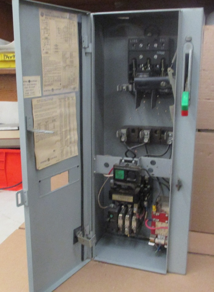 dis3585 ge combination magnetic starter cr308 600v max complete enclosure 300 line control 2 ge cr 308 motor starter wiring diagram wiring diagrams  at gsmx.co