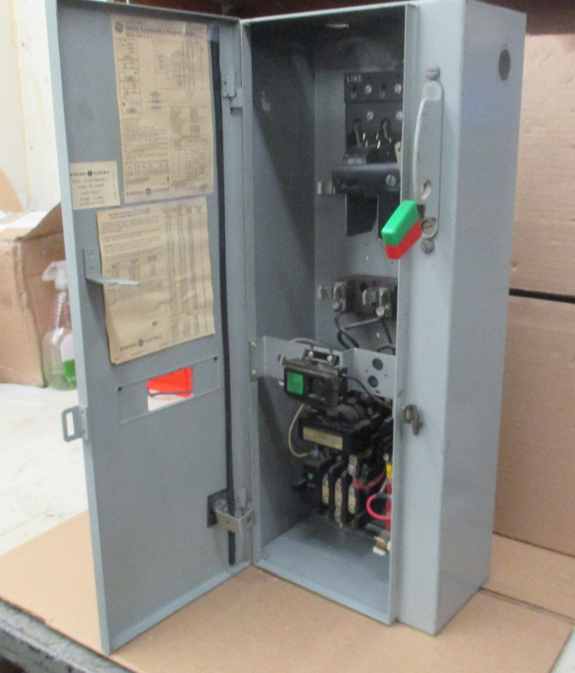 ge combination magnetic starter cr308 600v max complete enclosure Ge 300 Line Control Wiring Diagram ge combination magnetic starter cr308 600v max complete enclosure 300 line control ge 300 line control wiring diagram