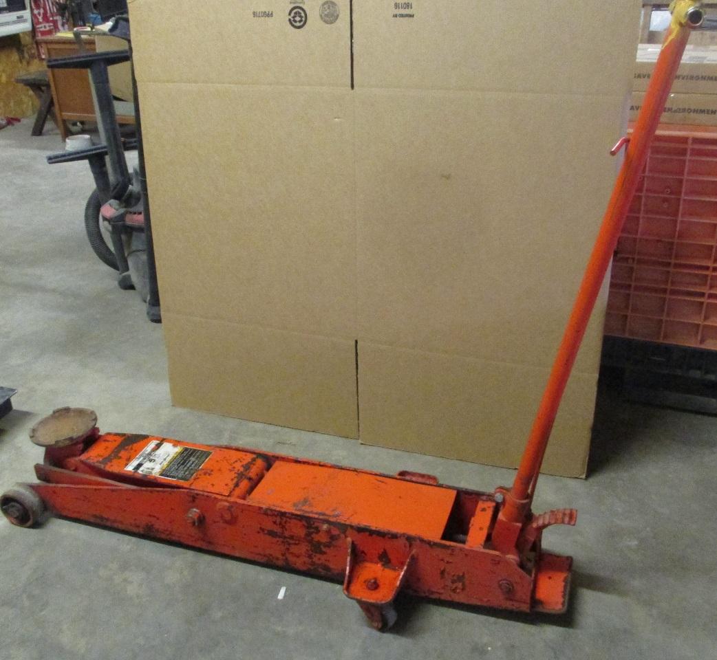 Hein Werner 5 Ton Floor Jack Mod 68052 Ebay