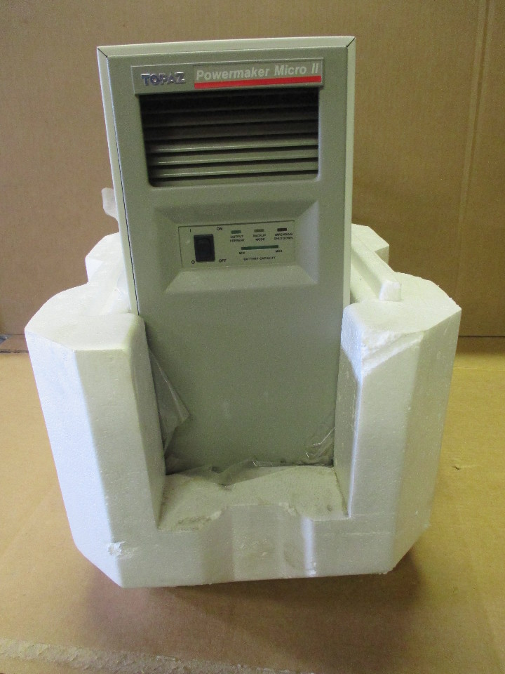 Square D Topaz Powermaker Micro Ii Ups Uninterruptible