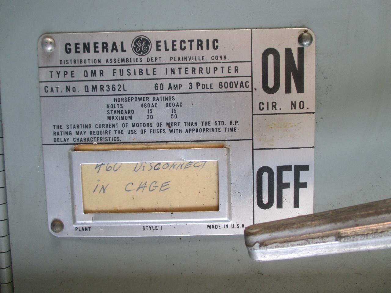 ge general electric qmr panelboard 800 amp 277 480 volt ebay