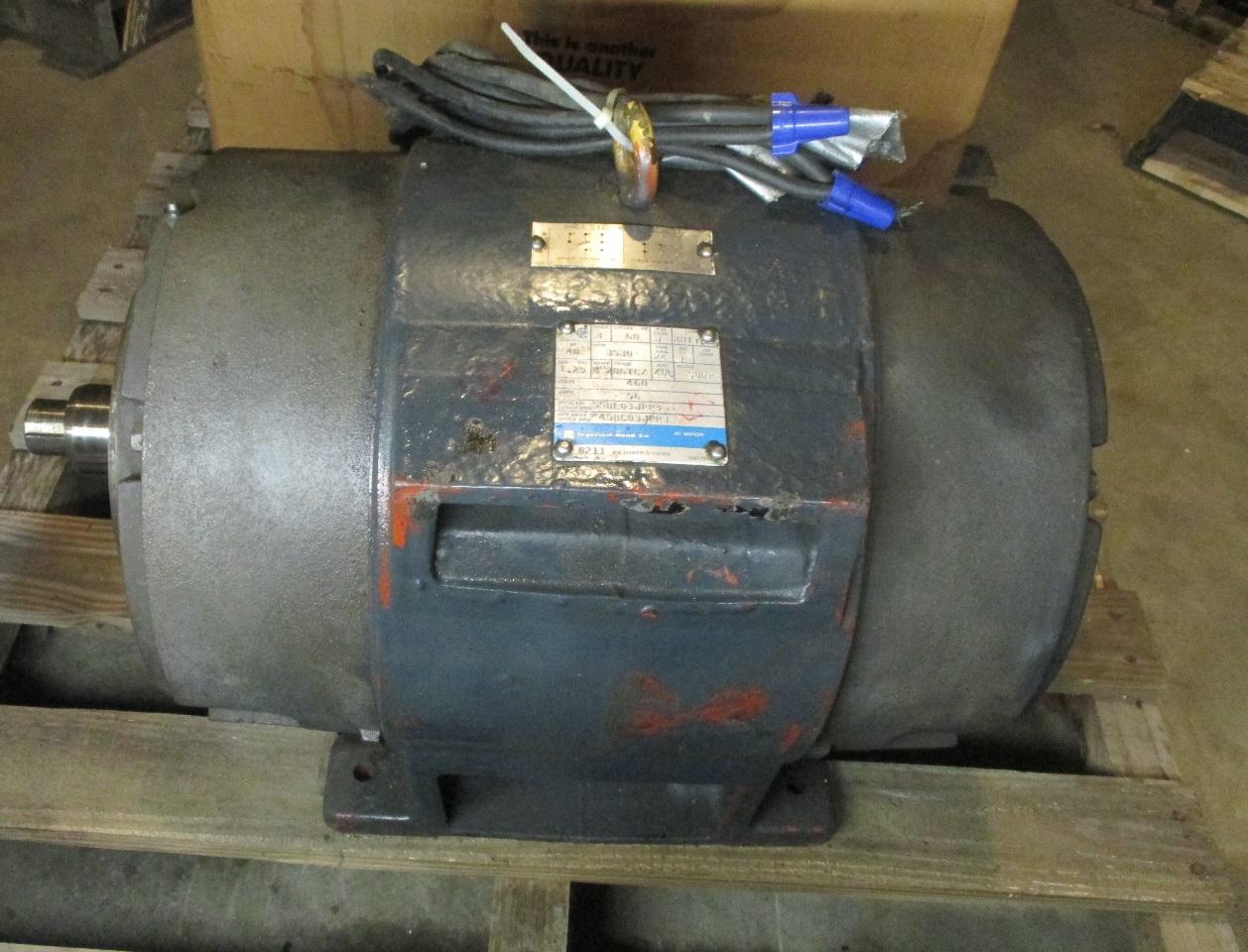 Ingersoll Rand Model Sudp 40 Hp Ac Motor 460 V Fr 86tcz