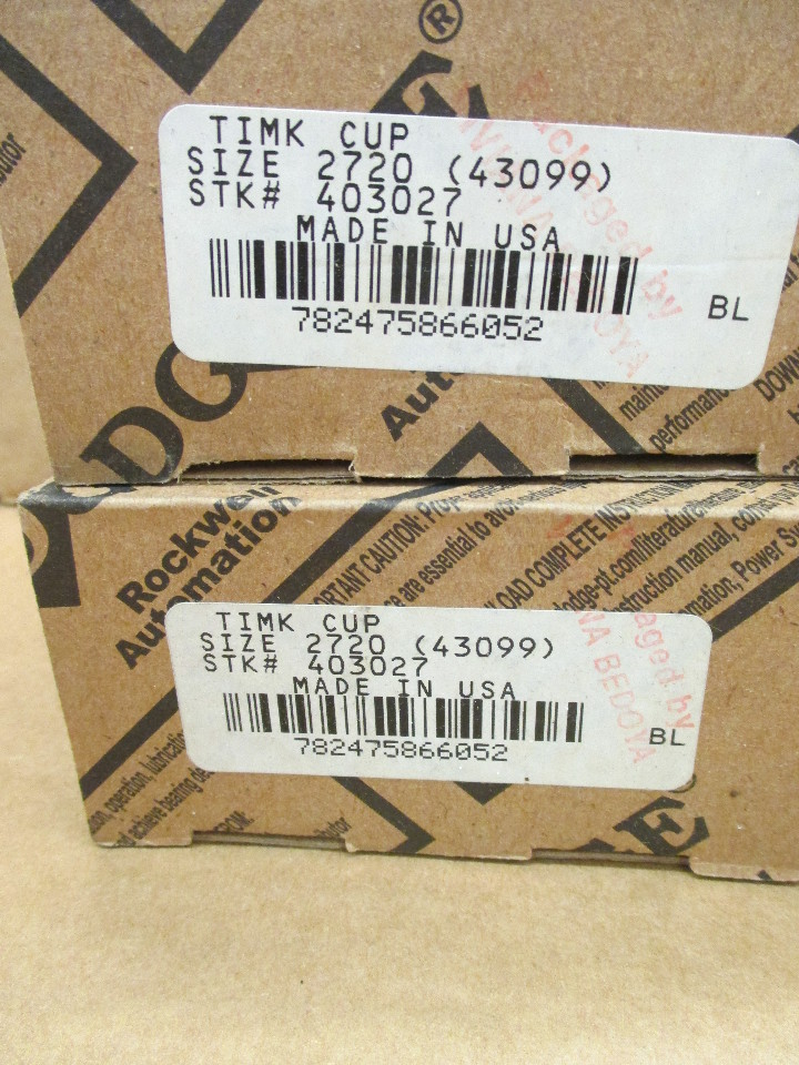 Lot of 4 DODGE (2)-403027, (1)-403073, (1)-403104 TIMKEN CONE ...