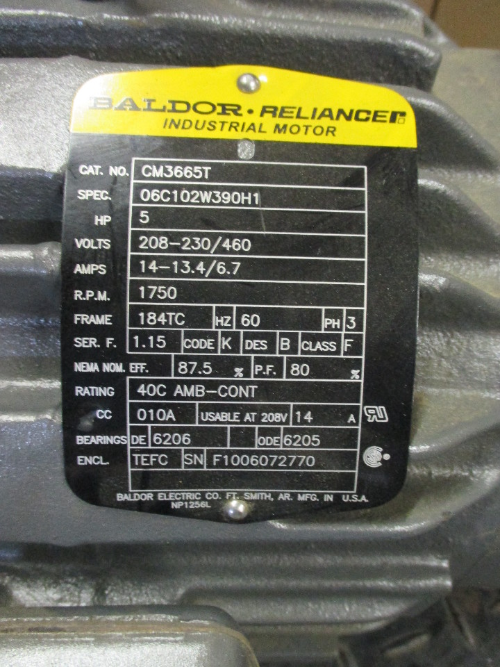 Motor parts reliance motor parts for 5 hp motor specification