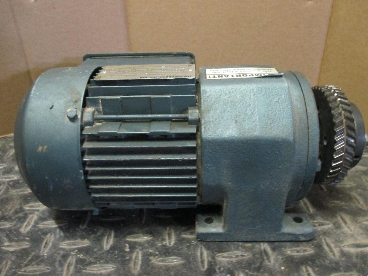 Sew Eurodrive R32dt71d4 1 2hp 230 460v 1750 445rpm Gear