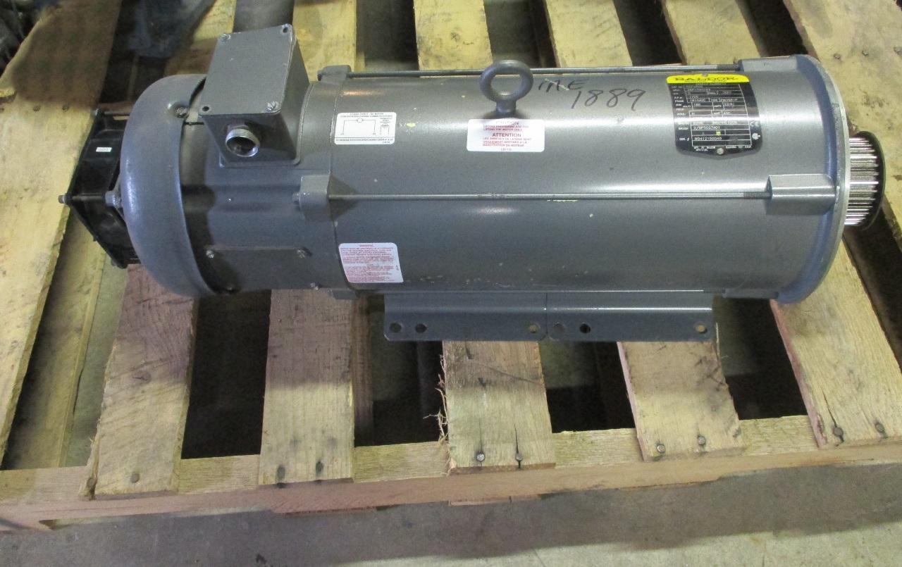 Baldor Reliance Model Cdp3605 Industrial Dc 5hp Motor: baldor industrial motor pump