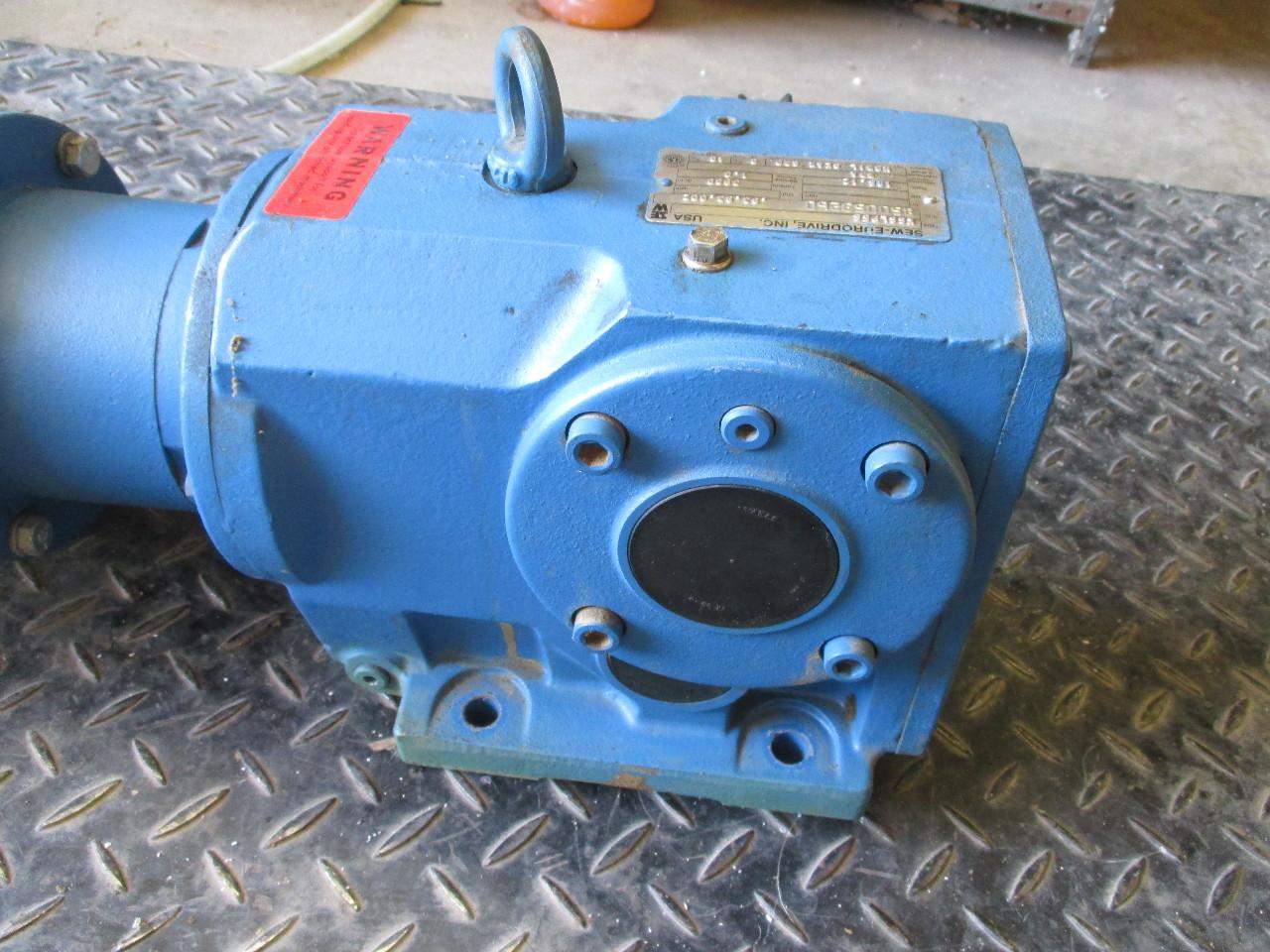 Baldor Ac Motor Vm3546 1 Hp Sew Eurodrive K66lp56 Speed
