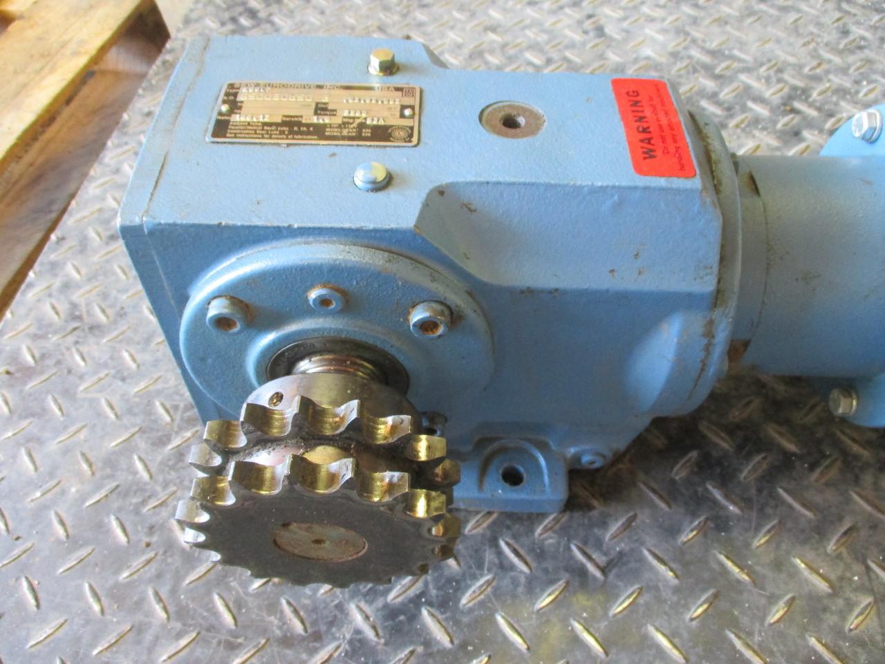 Baldor Ac Motor Vm3546 1 Hp Sew Eurodrive K66lp Speed